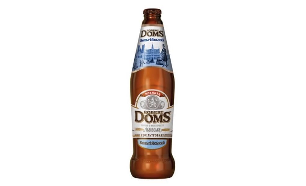 Пиво Роберт Домс 0,5L